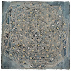 OWEN SCHUH Many Facets (Treespace), 2015 Graphite, watercolor, and tea on paper