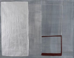 AMEL BENNYS New York City, 2014 Pigments, aluminium powder,oil stick on canvas