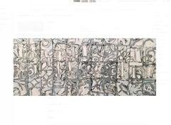 RICHMOND BURTON SILVER STUDIO SEQUENCE, 2007 Oil on canvas 40h x 96w in 101.60h