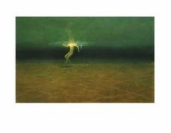 ANDRE VON MORISSE, Swimmer Below, 2001