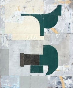 'Strange Fruit' by Antoine Puisais, mixed-media on linen, abstract