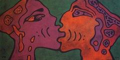 'It's So Easy' by Yuriy Zaordonets, acrylic on canvas, figurative