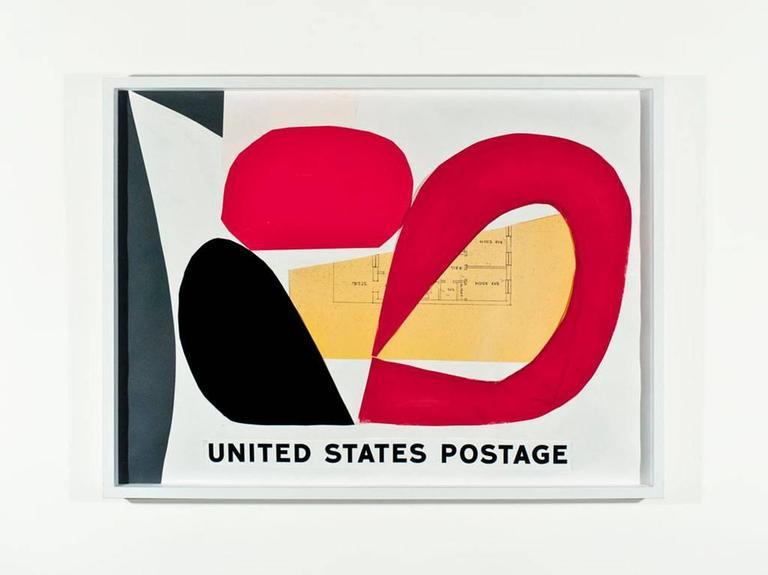 United States Postage (For Pinot-Gallizio)