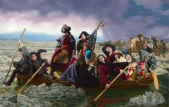 Ode to Leutze's Washington Crossing the Delaware