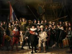 Ode to Rembrandt's the Night Watch