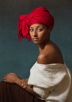 Ode to Aman's Creole with a Red Headdress