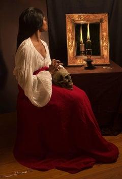 Ode to de La Tour's Penitent Magdalen