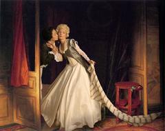 Ode to Fragonard's Stolen Kiss