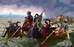 Ode to Leutze's Washington Crossing the Delaware