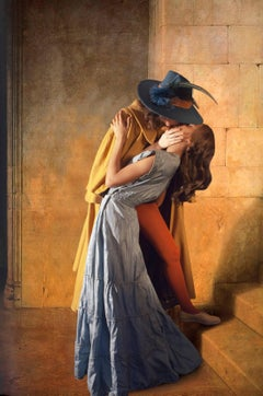 Ode to Hayez's the Kiss