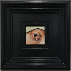 Eye XXII (after Dieric Bouts, Madonna)
