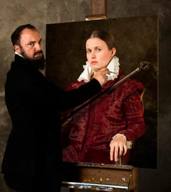 Ode to Anguissola's Portrait of Bernardino Campi Painting Sofonisba Anguissola