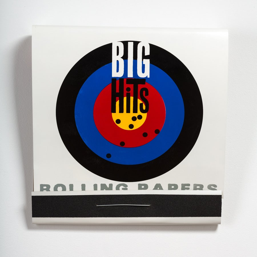 Big Hits Rolling Papers - Sculpture by Skylar Fein