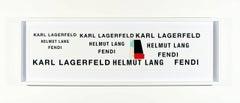 Karl Lagerfeld Helmut Lang Fendi
