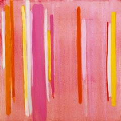 Lucky Stripe, Rosy (diptych)