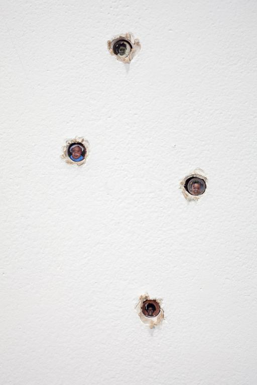 The Last Six, Under Six, Murdered by a Gun in the Sixth - Contemporary Painting by Adam Mysock