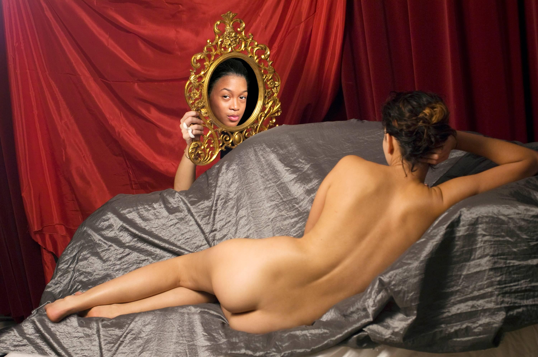 Ode to Velasquez's Venus at her Mirror