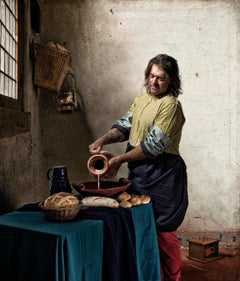 The Milkman, Ode to Vermeer's The Milkmaid