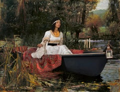 Ode to Waterhouse's The Lady of Shalott