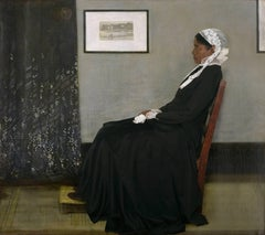 Ode to Whistler's Arrangement in Grey and Black No. 1