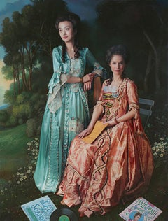Ode to Gainsborough's The Linley Sisters