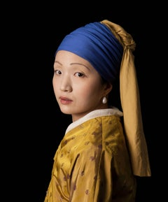 Ode to Vermeer's Girl with a Pearl Earring