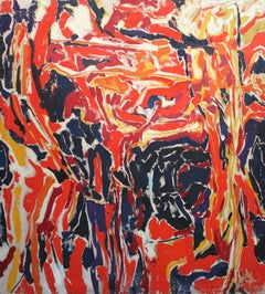 Ernest Briggs, Untitled, oil on canvas, 1959