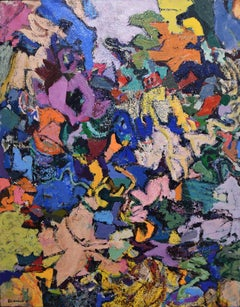 Amaranth Ehrenhalt, Orinoco, oil on canvas, 1991