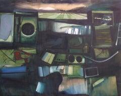 John Hultberg, Untitled, oil on canvas, 1959