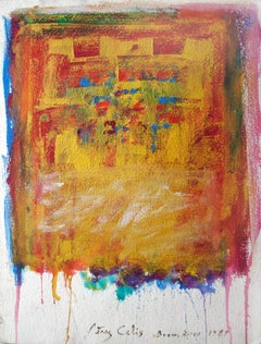 Perez Celis, Untitled (Buenos Aires), mixed media on paper, 1989