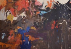 Amaranth Ehrenhalt, Splash 3, oil on canvas, 1958
