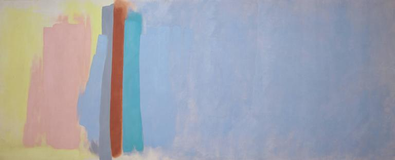 Friedel Dzubas Abstract Painting - Antigua