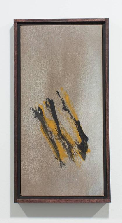 Cleve Gray Abstract Painting - Nantucket Bronze