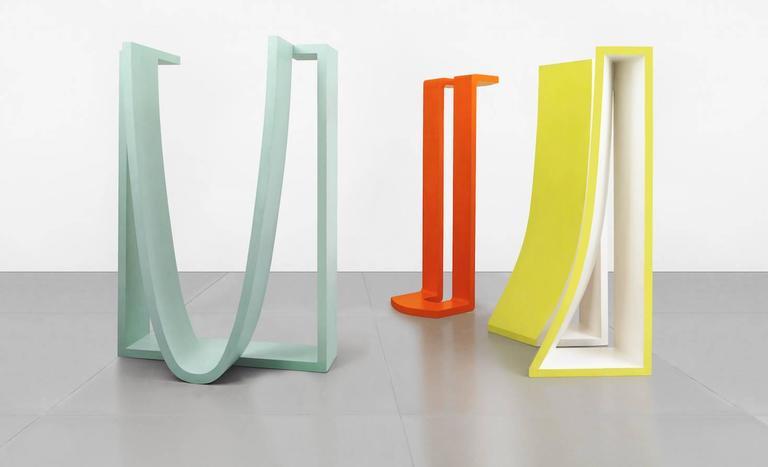 George Sugarman Abstract Sculpture - Threesome