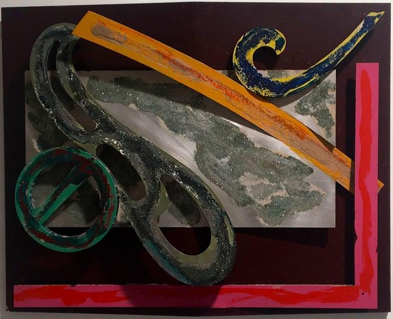 Frank Stella Abstract Painting - Bonin Night Heron