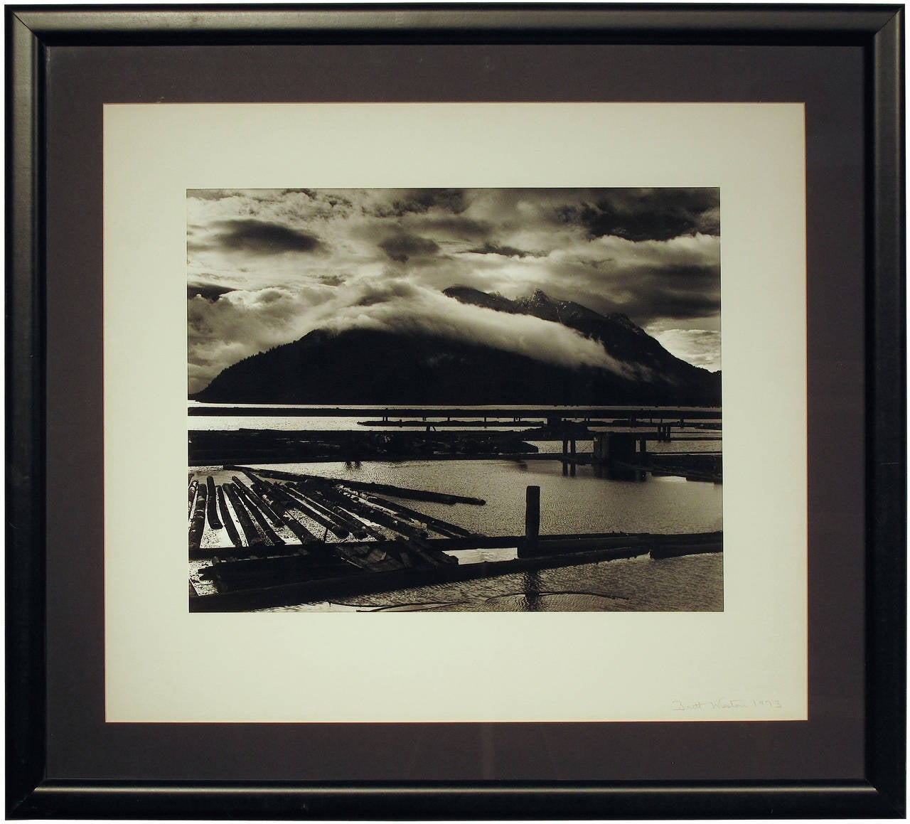 Hand-signed Vintage Silver Gelatin print (photograph)   