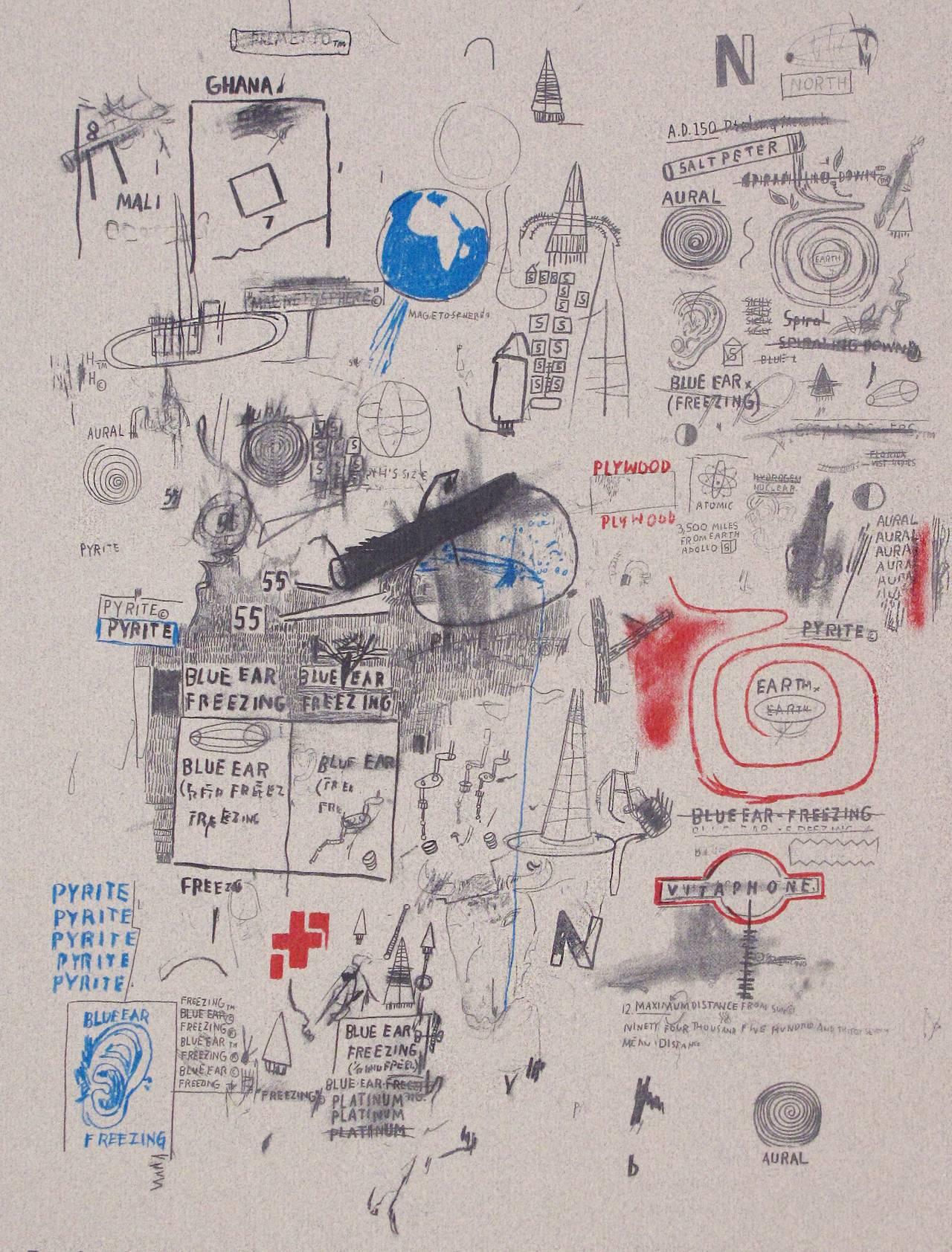 Untitled (Area), 1984, by Jean Michel Basquiat