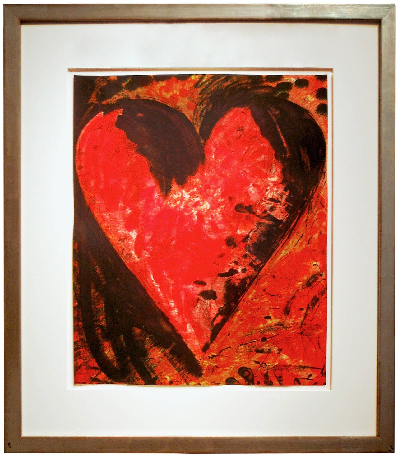 Fresh, French and Beautiful - Pop Art Print by Jim Dine