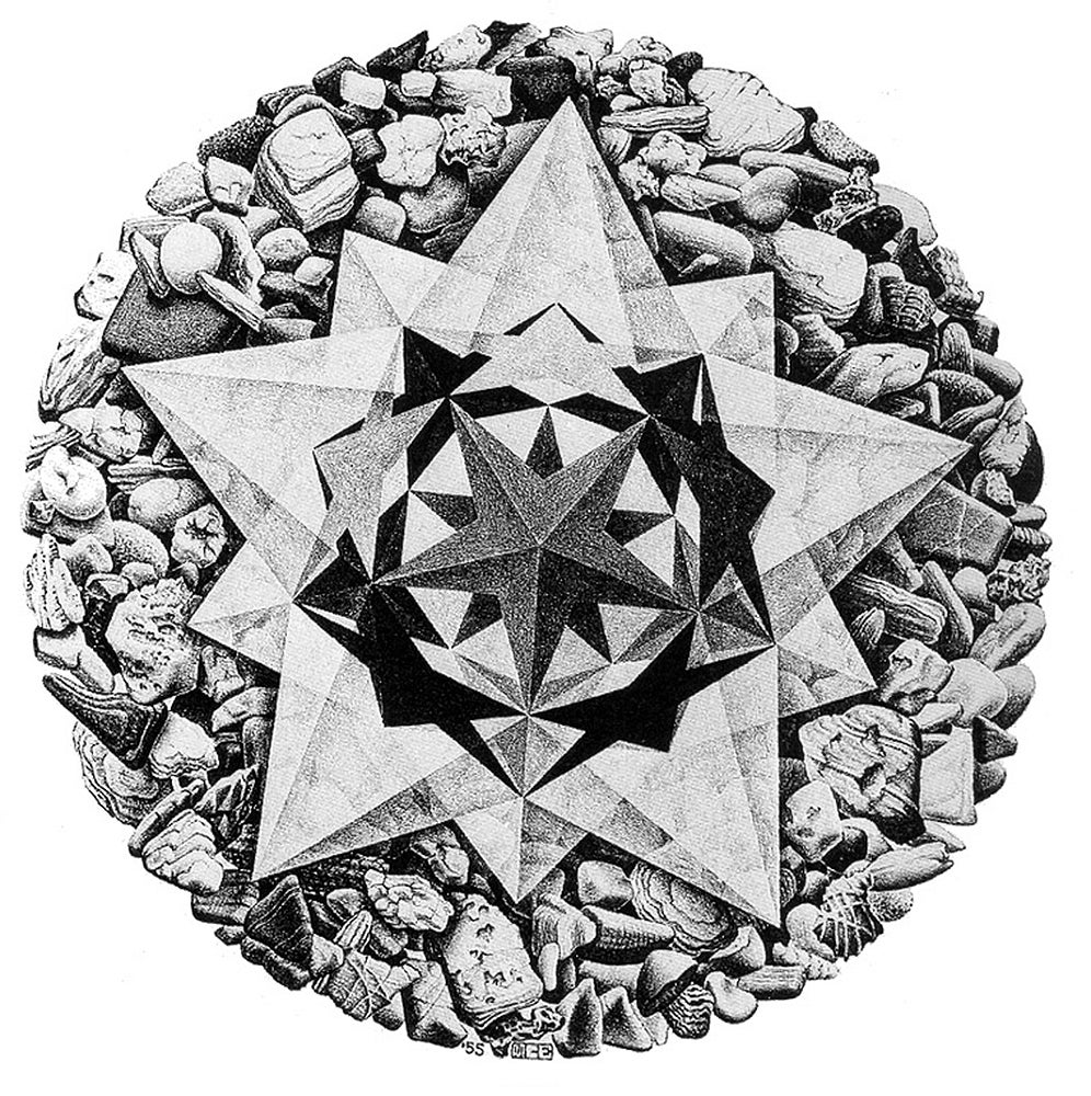 Order and Chaos II (Compass Rose)