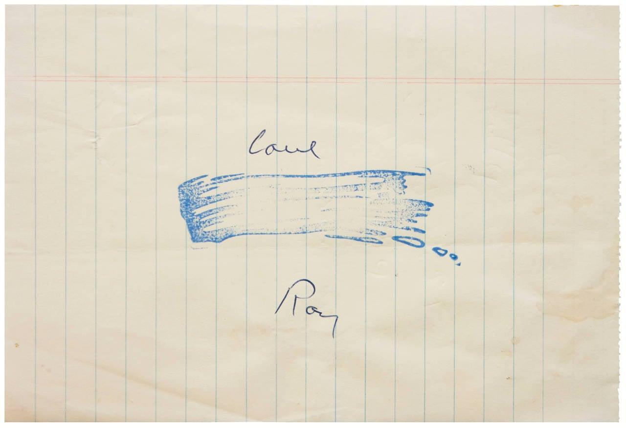 Roy Lichtenstein - Brushstroke 1