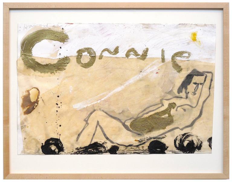 Connie - Mixed Media Art by James Havard