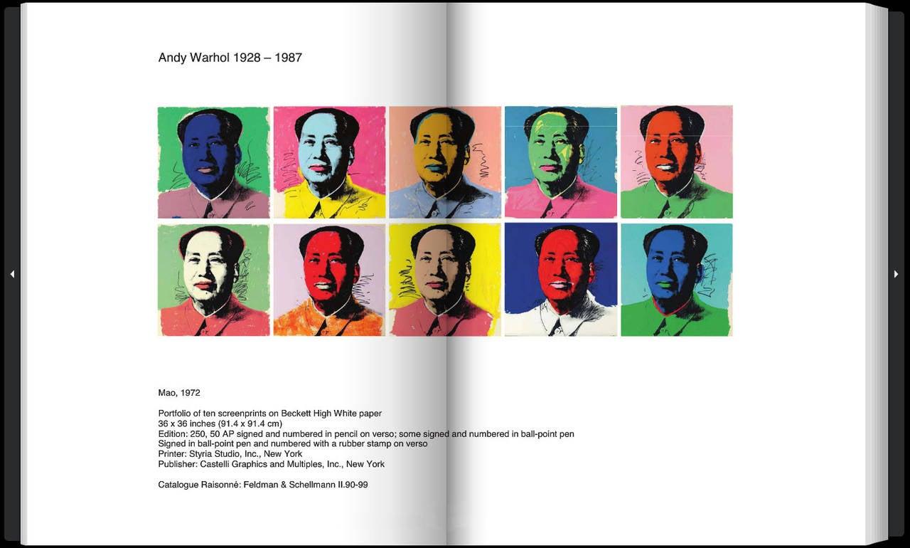 Mao - Print by Andy Warhol