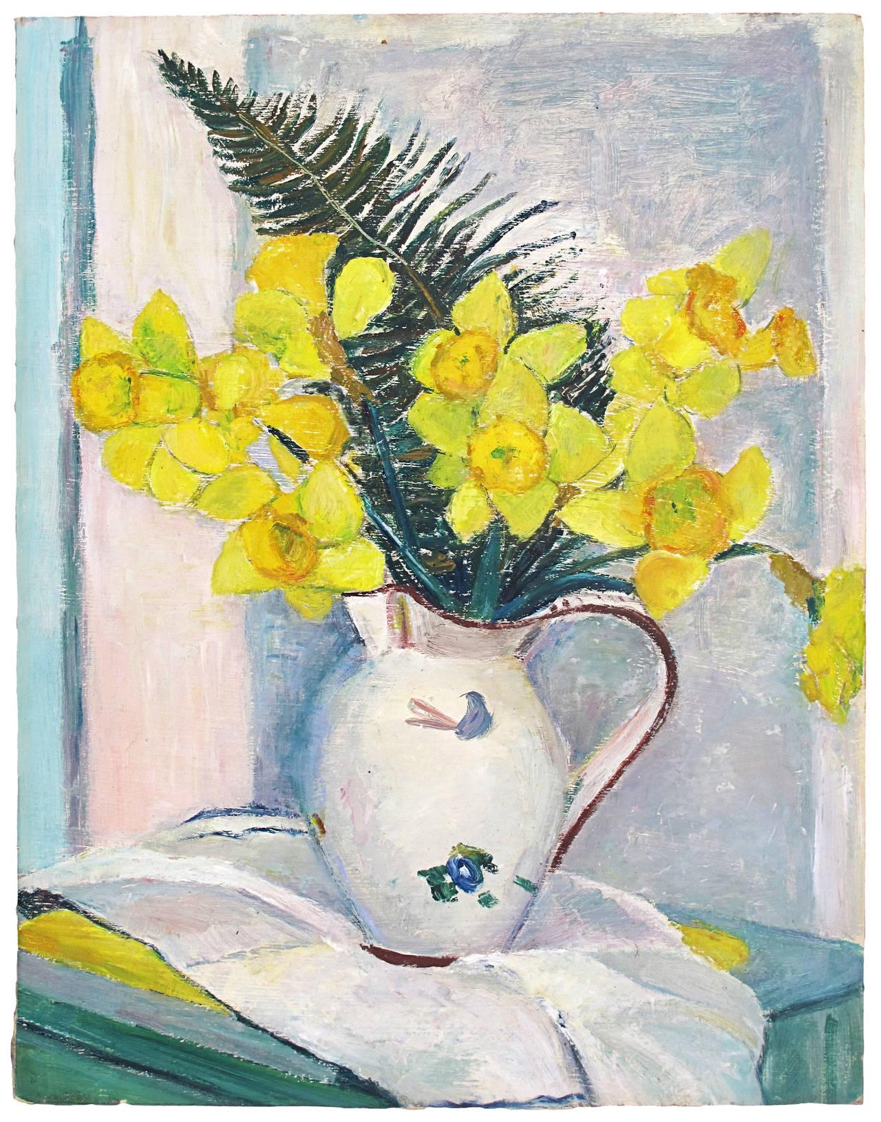 John Mann - Still Life with Daffodils 1