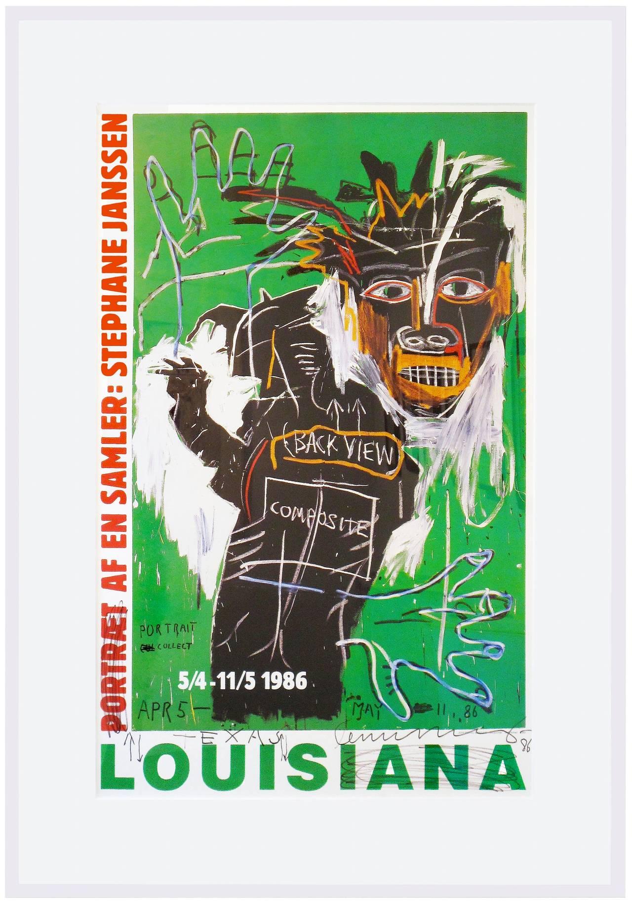 Jean-Michel Basquiat Figurative Art - Portrait of a Collector