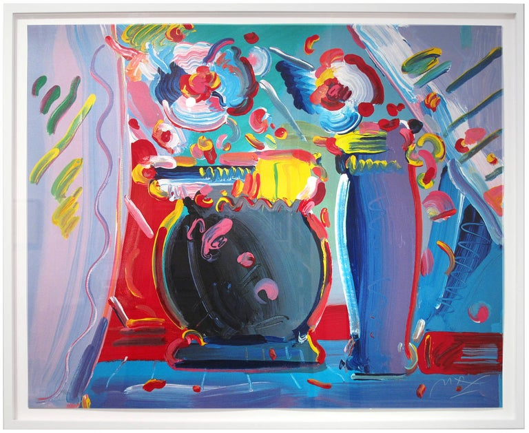 Flower Blossom III - Print by Peter Max