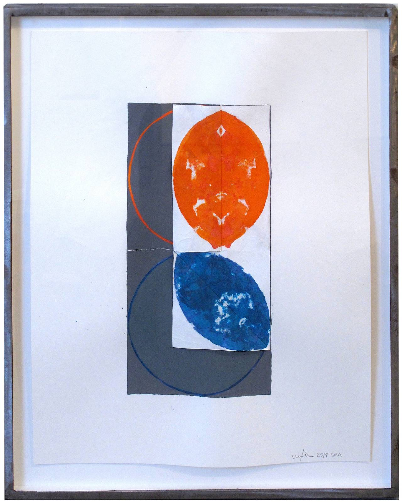 William Fares Abstract Drawing - Untitled