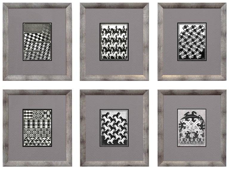 M.C. (Maurits Cornelius) Escher Animal Print - Regular Division of the Plane