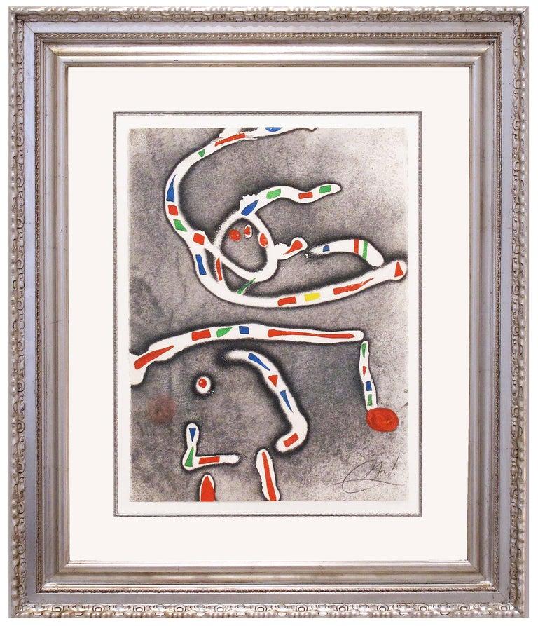 Joan Miró Abstract Print - Fireworks I
