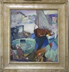 Hugh Breckenridge, Return of the Fishing Boat, Oil on Canvas, ca. 1924