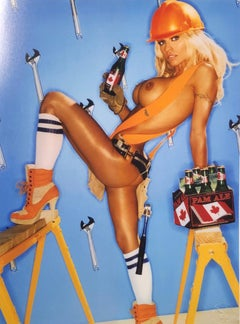 """Tool Time Pam Anderson"" Original Limited Edition#33 of 75 by David LaChapelle"